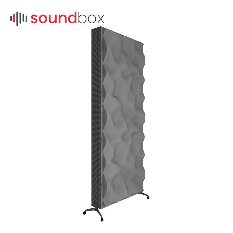 AQ Intelligent modularity Easeapps Movable Acoustic Baffle AQ1000H 3d acoustic diffuser wall <strong>panel</strong>