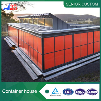 Prefabricated luxury standard container house