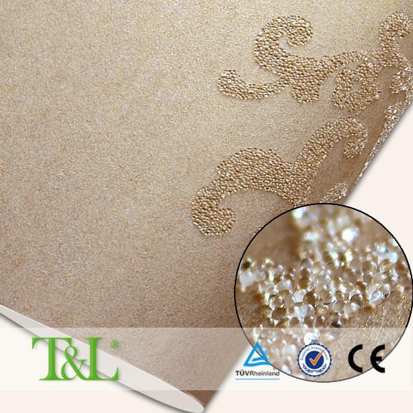 Famoso marchio di porcellana glitter perle di vetro carta da ...