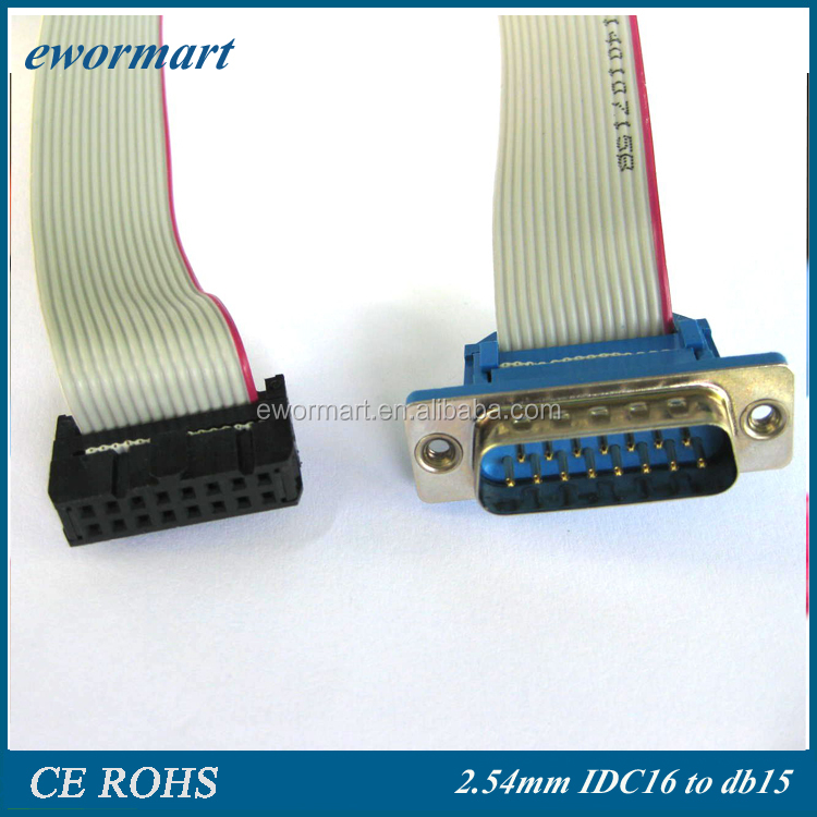 customized the 9 pin 10 pin 34 pin cable for asus ribbon cable and dvd ribbon cable