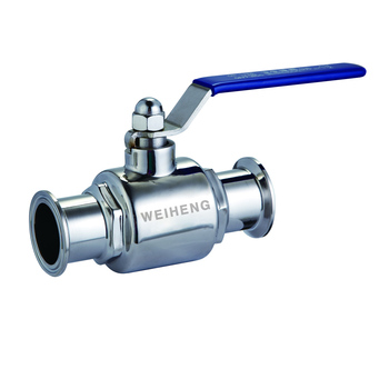 Food Grade Stainless Steel Straight Two Way Sanitary clamp Ball Valve