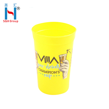 New Products 2018 Innovative Product 16 Oz Custom Stadium Plastic Cup