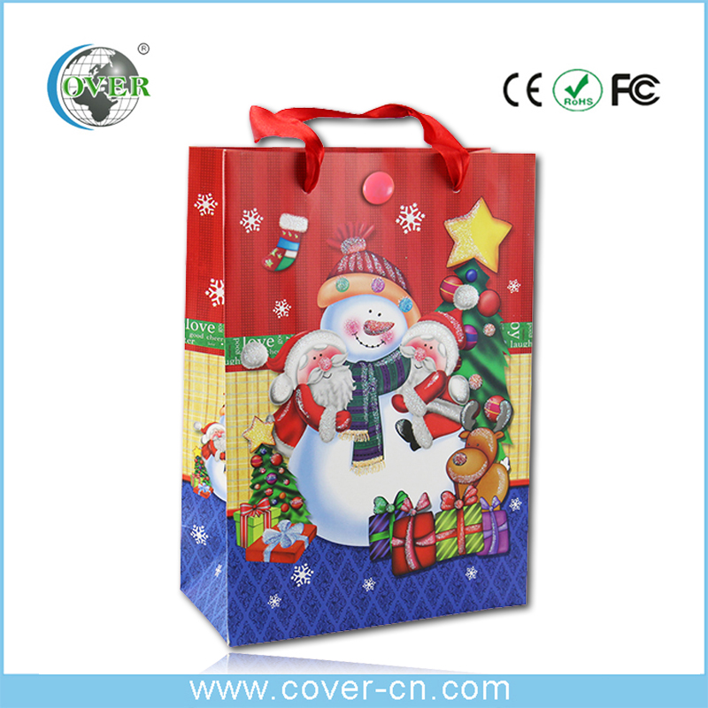 Hottest!!! Christmas music bag, sound bag,promotional gifts