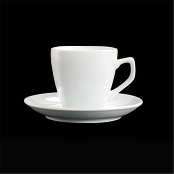Kitchen tools wholesale white glazed ceramic bulk china tea cups and saucer