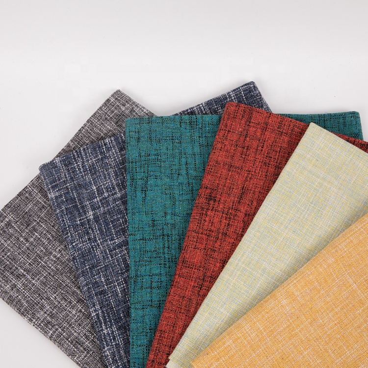 free sample blackout thick woven jacquard 100% polyester coated fabric for bag