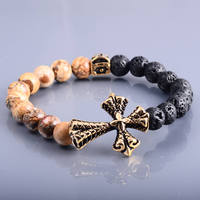 Luxury Bracelet Jewelry Natural Stone Beads For Men Wholesale