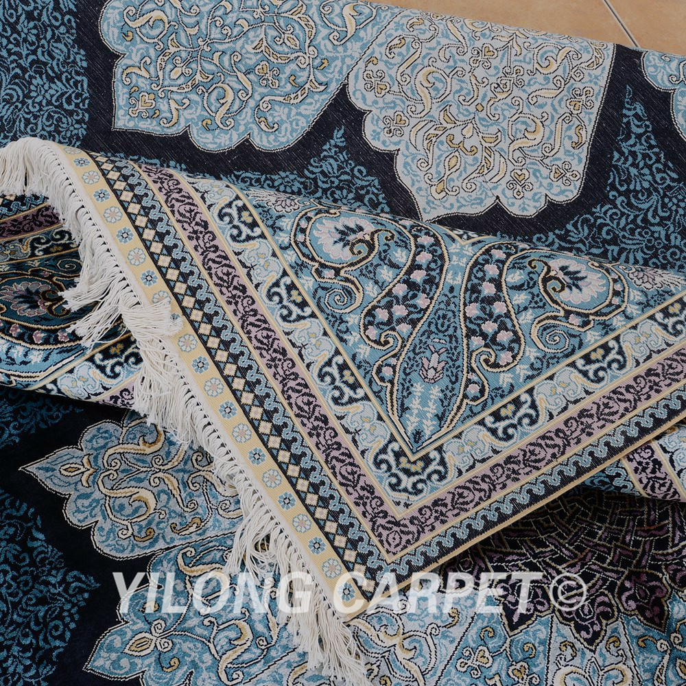 yilong 2x3 m de luxe bleu turquie tapis de soie persan tapis fait la main tapis id de produit. Black Bedroom Furniture Sets. Home Design Ideas