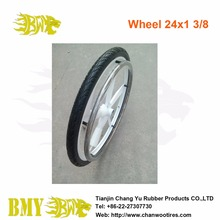 Slick 24 inches Wheelchair Tire Gray Vintage 24x1.75 Cheng Shin Tyre 60-70 psi