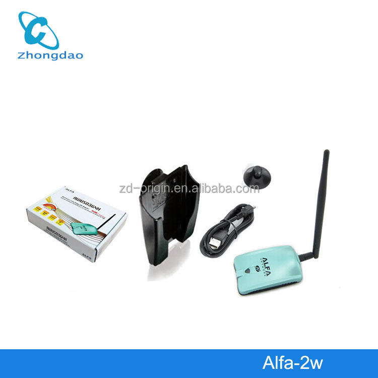 wifi adapter high power 150Mbps 2000mW Alfa AWUS036NH USB Wifi