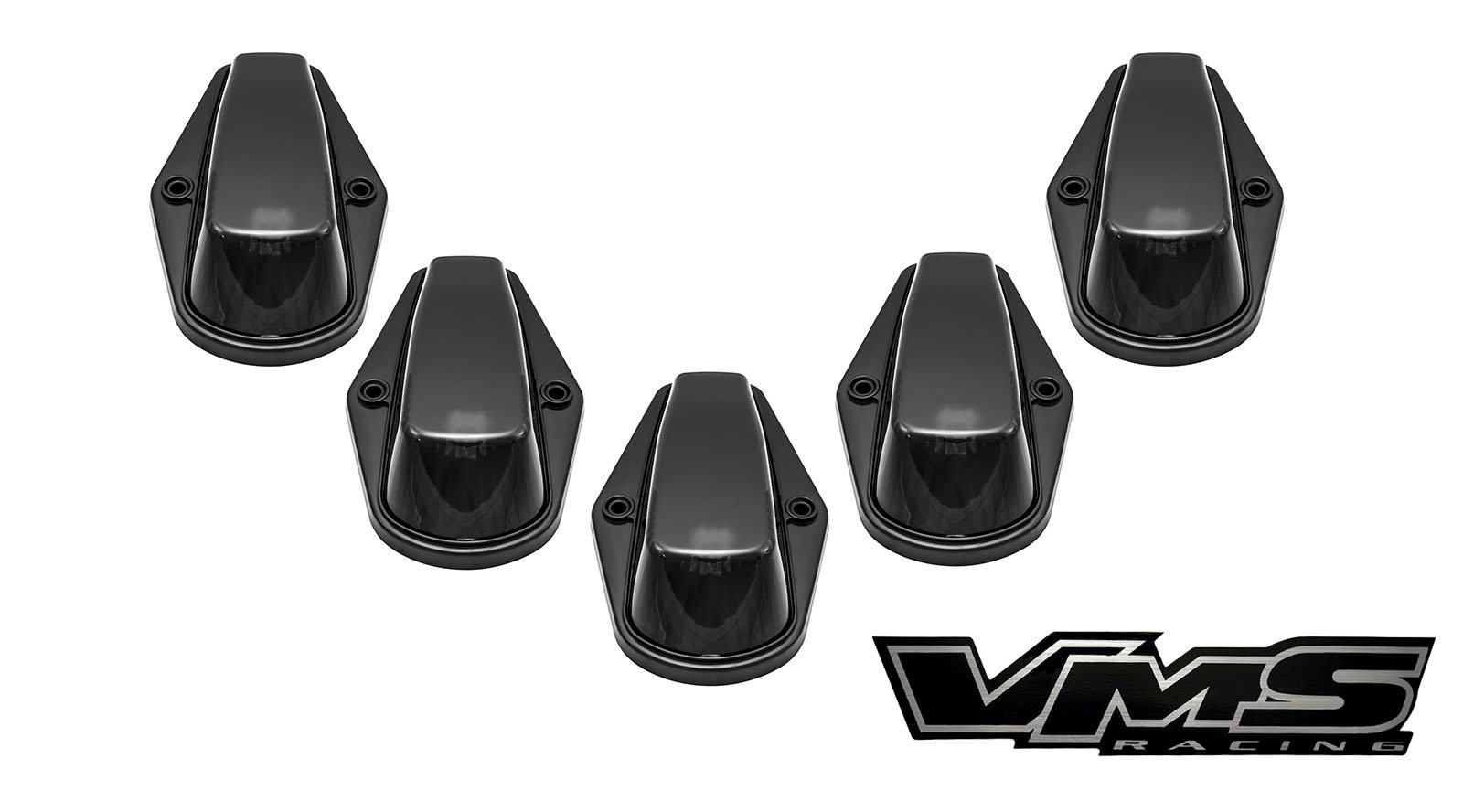 Get Quotations · 80-97 VMS Racing BLACK BASE Cab Roof Marker Lights in  SMOKE LENS with WHITE