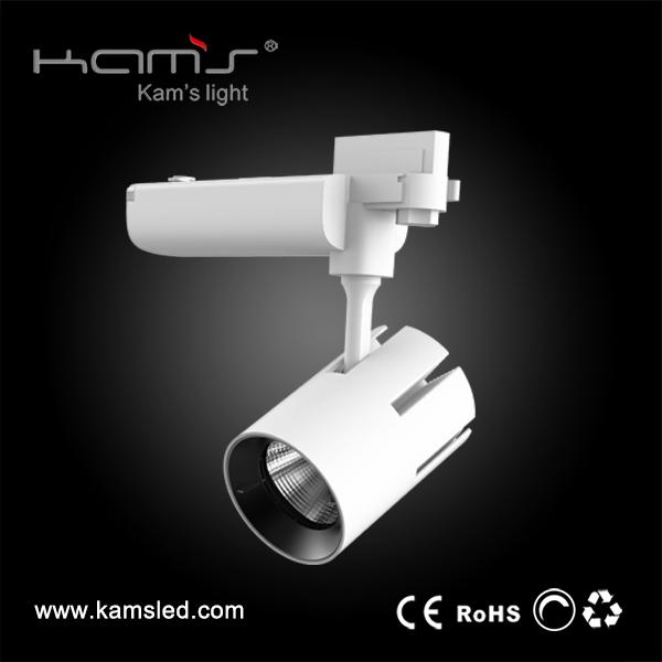 China Shenzhen factory 50000hours led black/white 2700K-5000K 35W/50W aluminum track spot light with Ra>80