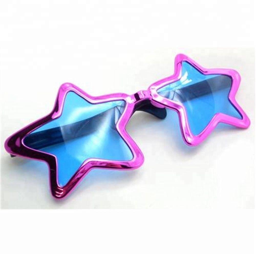 Pink Metallic Jumbo Star Shaped Sunglasses Glasses Fancy Dress Party Accessory Ca912 Buy Sunglasses Star Shaped Sunglasses Party Sunglasses Product On Alibaba Com