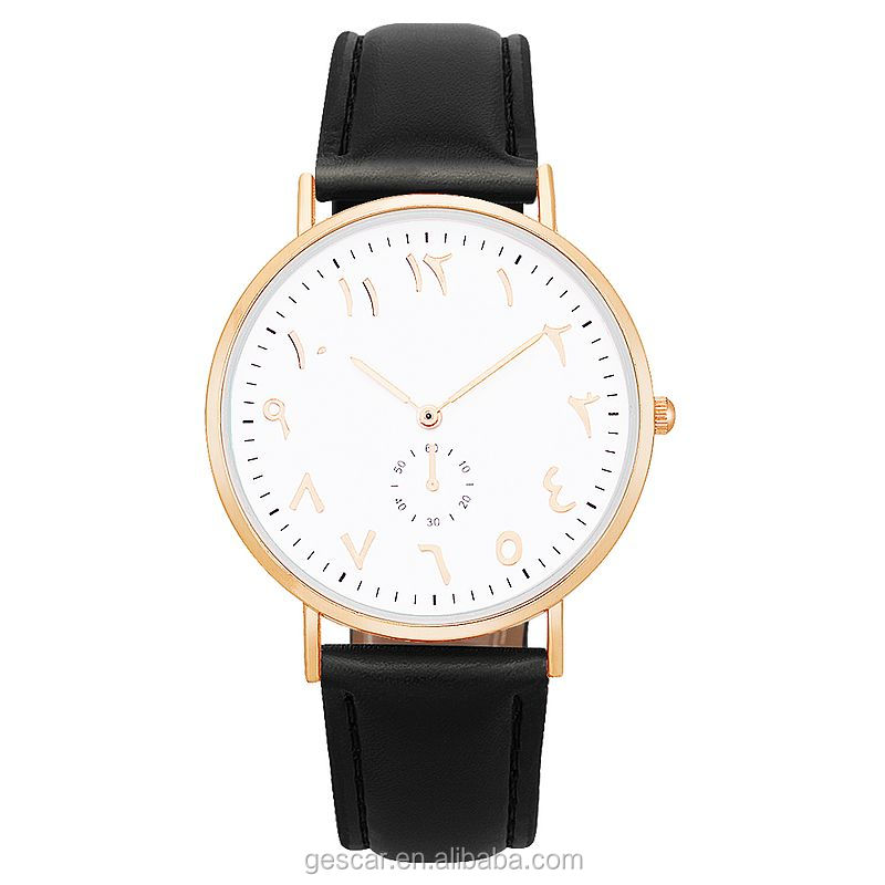 8597 new special number no logo mesh leather sports lady watch wholesale wrist watch