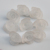 Cheap Price 8*16MM Acrylic Frost Matt Rose Flowers Beads Drilled Frosted Plastic Rose Flower Beads With Back Hole