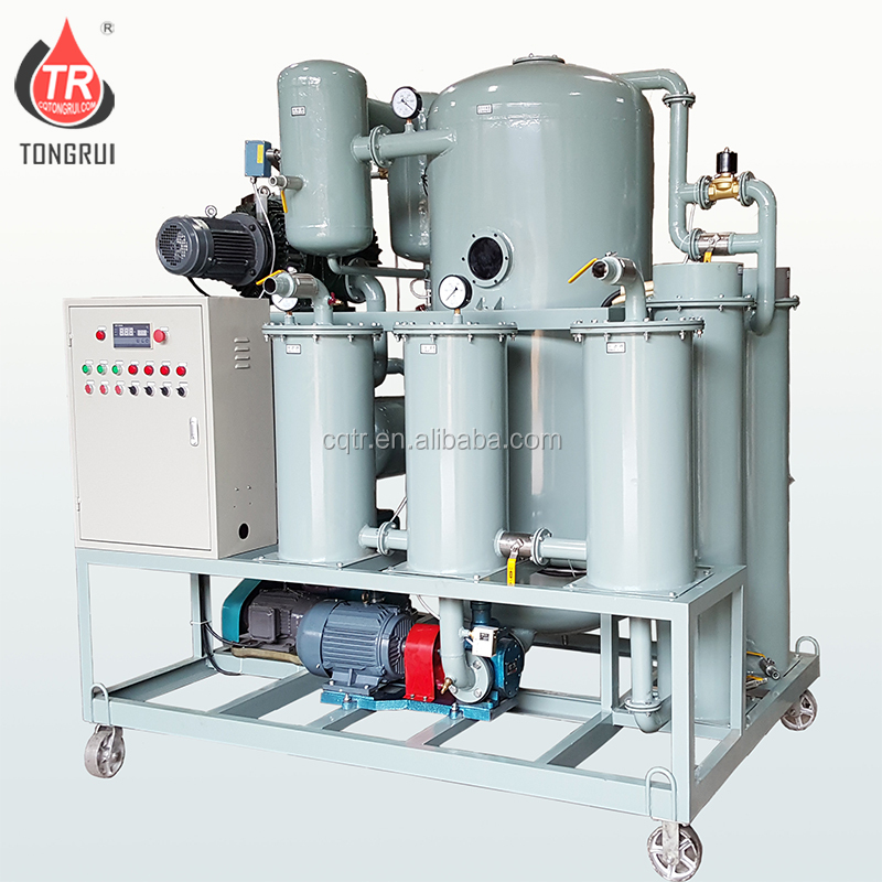 ZJA Double-stage Used Oil Vacuum Oil Purifier,Insulation Oil Purification equipment
