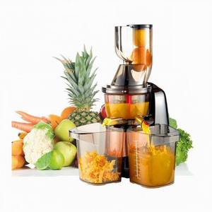 Stainless steel industrial juicer machine , slow masticating