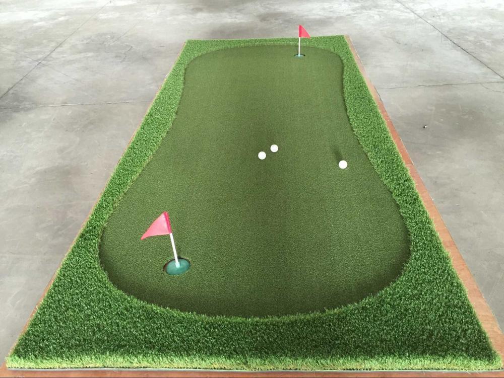 Artificial Grass Portable Mini Golf Putting Green High