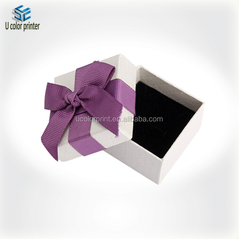 Customized new!! paper jewelry boxes wholesale with perfect design