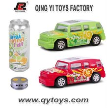 1:36 4 Channels Mini SERSONS DESIGN IR Car Coke Can Mini RC Car New Kids Toys for 2012