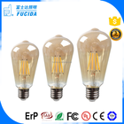 China supplier manufacturers of led bulbs 2w 4w 5w 6w ST48 ST58 ST64 E27 B22 led lights for home decoration led filament bulb