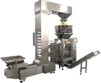 Combo weighing packing machine for Grain, Coffee Beans, Seeds, Nuts, Soy Beans, Linear Weigher Packing machine With CE