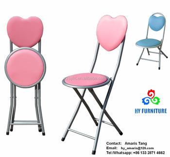 De chaises Buy Pour Enfants Forme chaise Gros Chaises En Pliantes Coeur Rembourrées Enfants Métal Enfants UqSzVMp