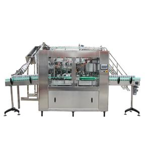 tin can liquid filling canning machine