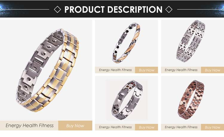 Women Men Hematite Pure Copper Magnetic Bracelets