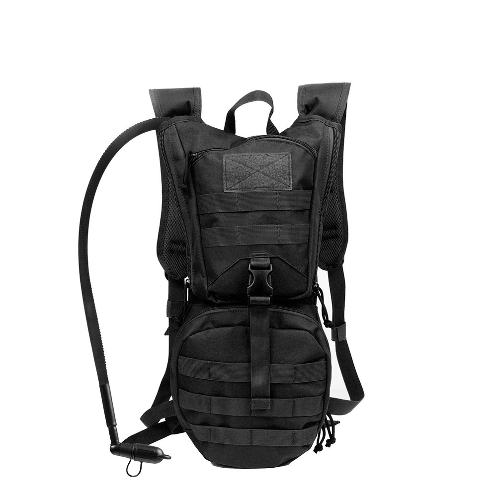Tactical Hydration Backpack Molle 900D Nylon Pack with 3L Water Bladder