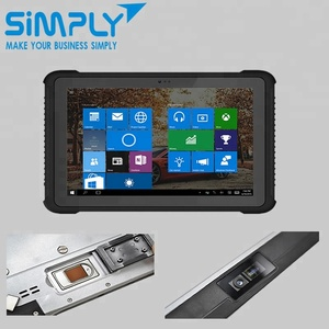 "china price 6 7 8 10 10"" 12 inch 3g 4g lte rugged windows tablet pc 10 with ethernet rs232 lan rj45 port mobile barcode scanner"