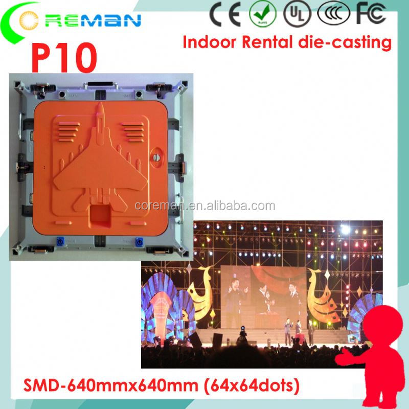 <strong>express</strong> ali P10 rental led display full color / rental led screen HDMI video processor pitch 10mm