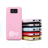 high capacity mobile charged battery power bank 20000mah
