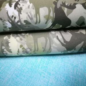 100% Polyester Fabric Camouflage Four Waystretch Stretch Flannel Fabric for Camping Tents/Jacket/Gloves
