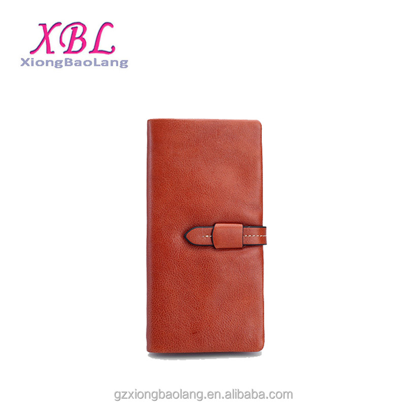 XBL Hot Trendy High quality Ladies Genuine Leather Long Woman Wallets guangzhou supplier