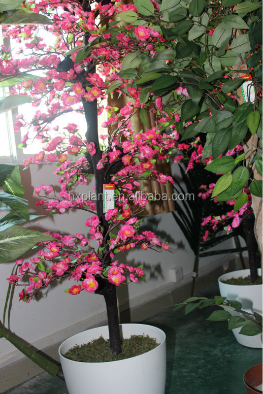 Landscaping Artificial /fake/imitation/man-made Wintersweet potted tree/bonsai
