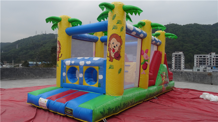 New Commercial Hot Sale 0.55mm Pvc Inflatable Obstacle Course,boot Camp Inflatable Obstacle Course,inflatable Pool Obstacle