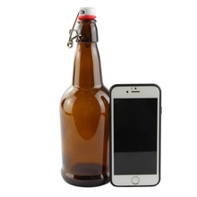 Custom 500 ml brown swing top finish 빈 amber (gorilla glass) beer <span class=keywords><strong>병</strong></span>