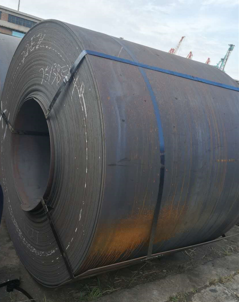 High quality 65Mn hot rolled carbon spring steel coil