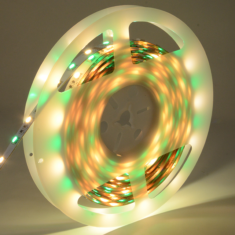 Customized 24V RGBW SMD5050 IP65 300leds 5M Flexible LED Strip Light