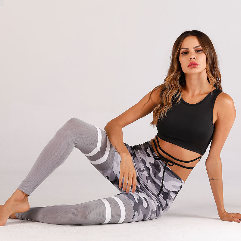 Custom Sexy Nylon Yoga Leggings Sportswear Fitness Women Yoga Pants
