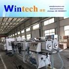 Plastic PVC electric conduit pipe making machine / hdpe pipe extrusion machine/line