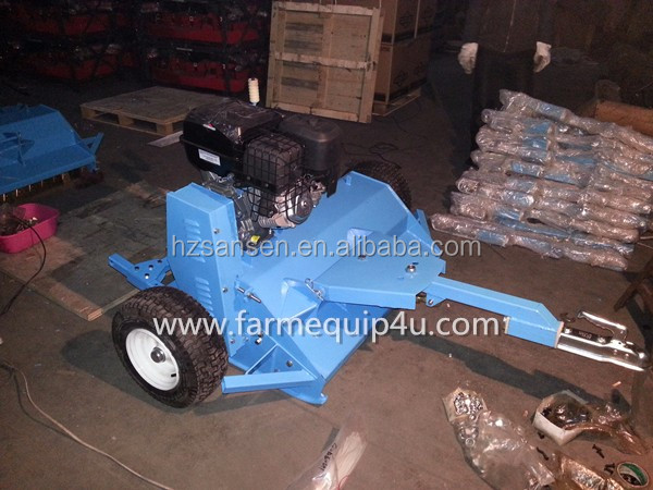 ATV Flail mower with self engine,Tow behind ATV Mower for sale