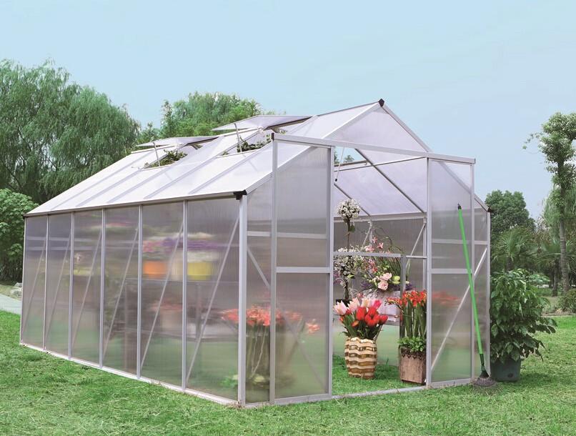 garten haus f r tomaten mit polycarbonat garten. Black Bedroom Furniture Sets. Home Design Ideas