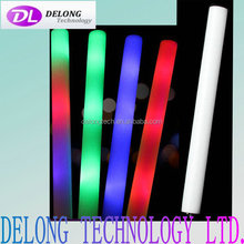 hot sell promotional glow led foam stick,cheapest led foam stick for party,concert,wedding,festival