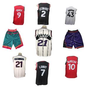 New all 30 teams USA American basketball jersey