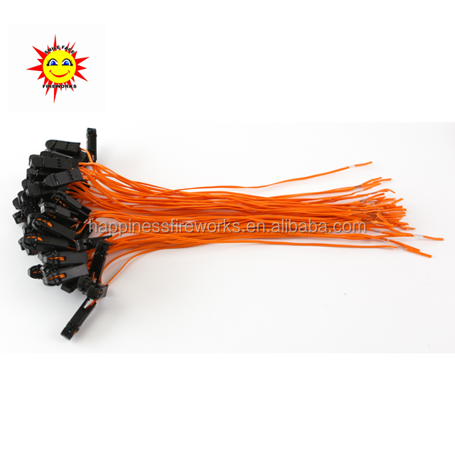 2000pcs/lot Yellow wire 0.3M Talon Igniter, safety fireworks display igniters