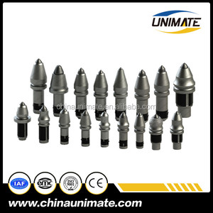 Factory Carbide teeth and drill bit for drilling rock auger and bucket Drilling bit holder C10 C30 B43h
