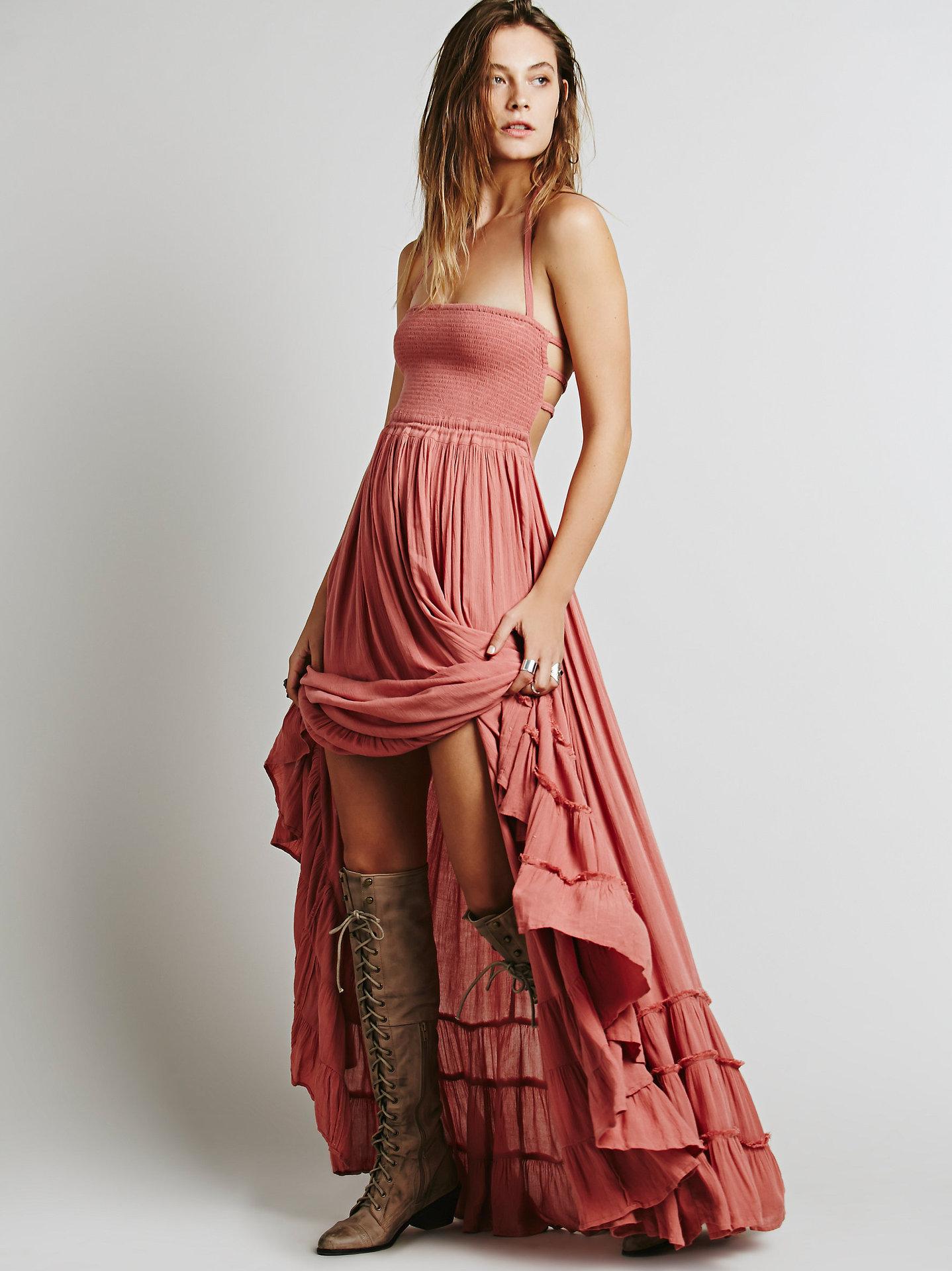 Online kopen Wholesale Bohemian chic jurken uit China ...
