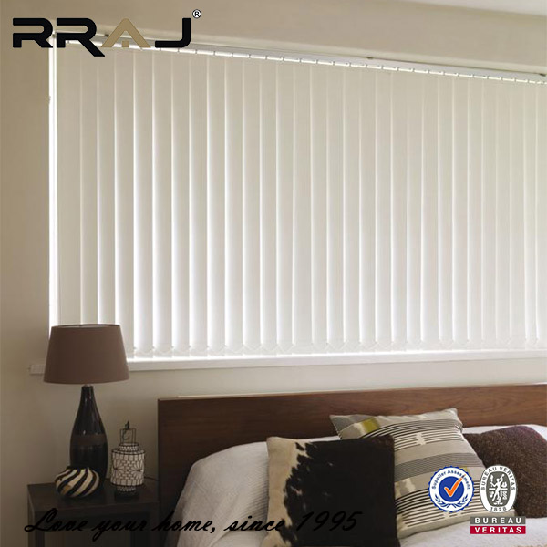 Customized motorized light filtering vertical blinds with SGS