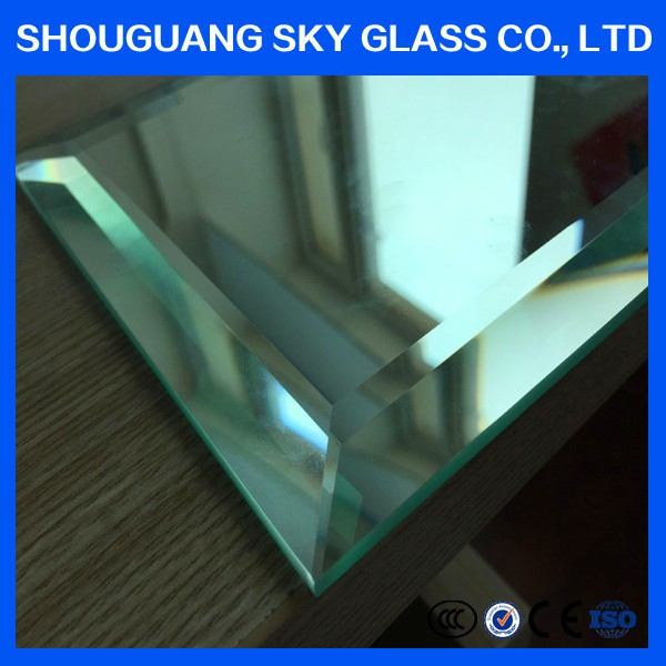 finish clear aluminum mirror gery back sheet plate for decoration